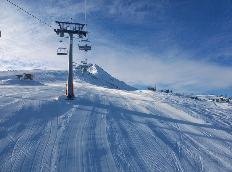 Up to the top, Bansko