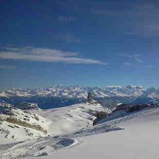 Quille de Diable, Gstaad Glacier 3000