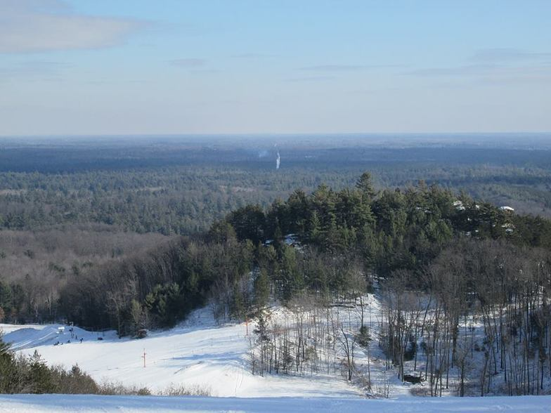 Top of hill, Bruce Mound