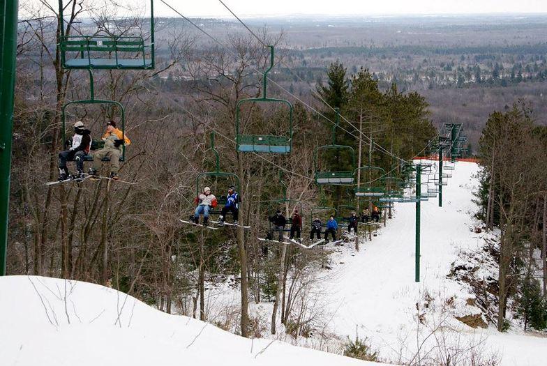 Bruce Mound snow