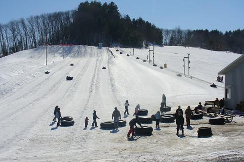 Bruce Mound Ski Resort by: Howard Munson