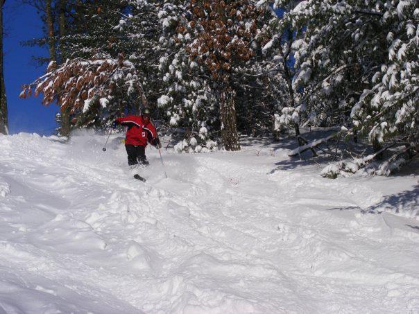 Red Skier, Bruce Mound