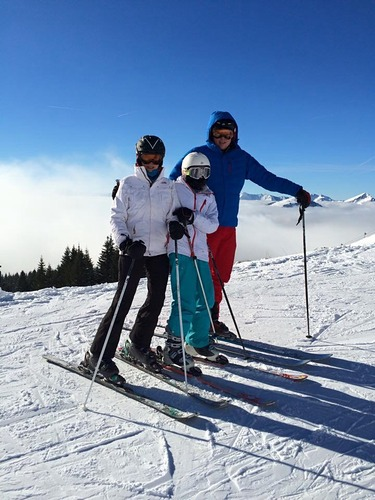 Chatel Ski Resort by: Justine Middleton