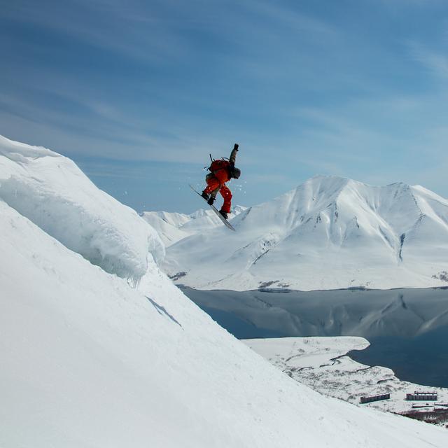 Heliboarding with Helipro, Snow Valley - Kamchatka