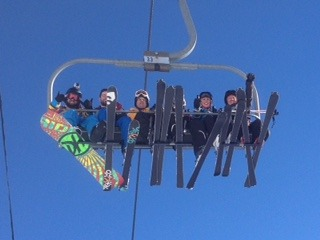 On our way to the top, Grandvalira-Soldeu