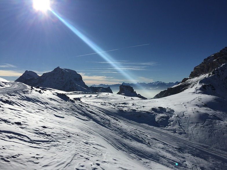Cervinia in early December 2015, Breuil-Cervinia Valtournenche