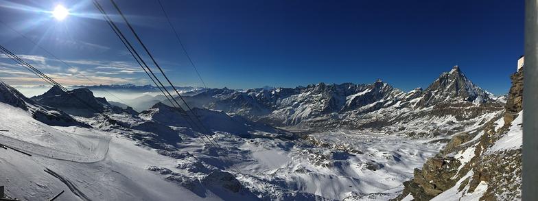 Cervinia Panorama Dec 2015, Breuil-Cervinia Valtournenche