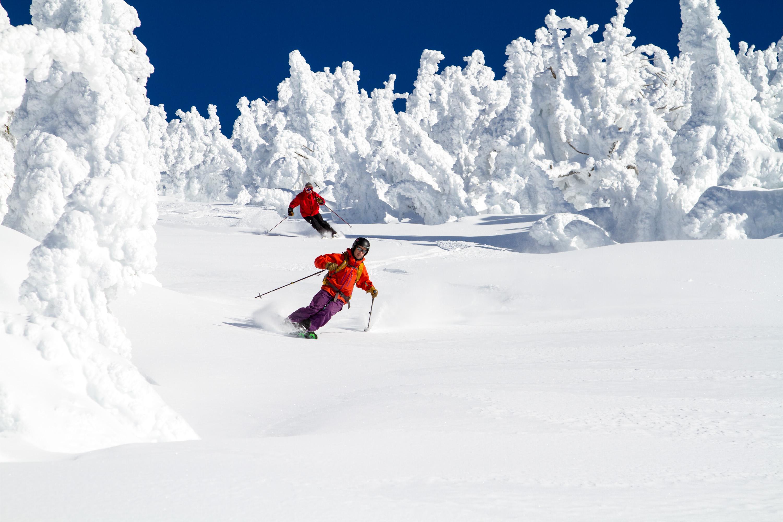 Skiing with Snowghosts, Selkirk Powder