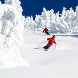 Skiing with Snowghosts, Selkirk Powder