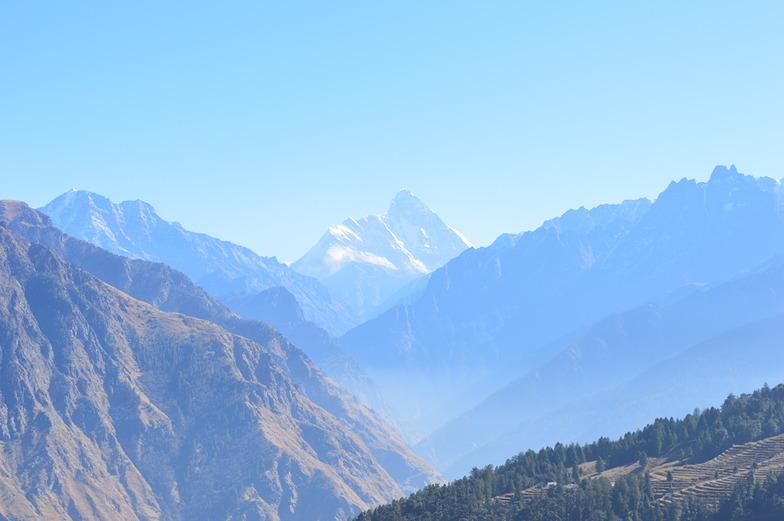 Nanda Devi from Auli Top