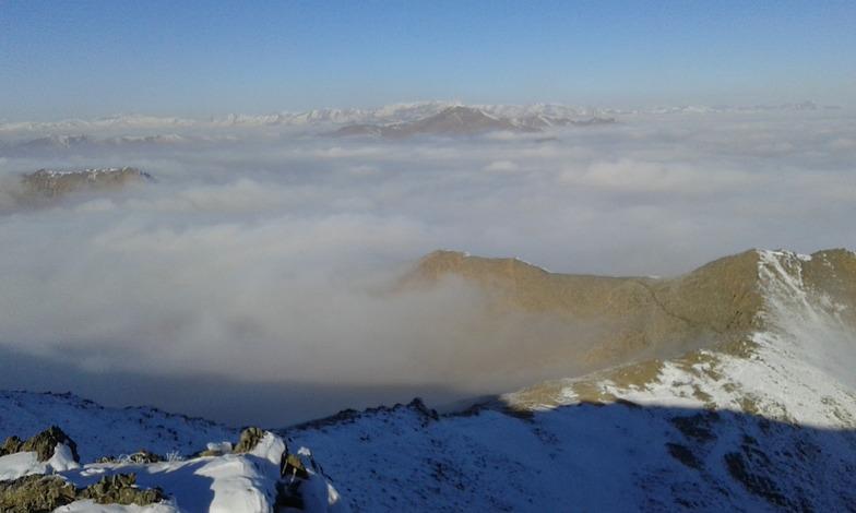 mount 125 from iran arak, Mount Damavand