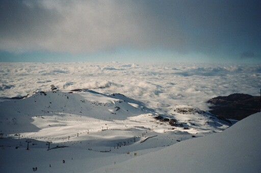 "Sierra Nevada - ""Top Station - Borreguilles"""