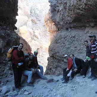 Tight throat in taftan, Mount Damavand