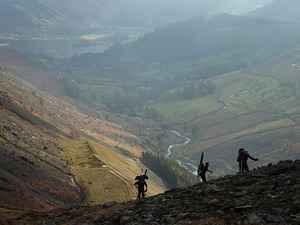 Walk in..., Raise (Lake District Ski photo