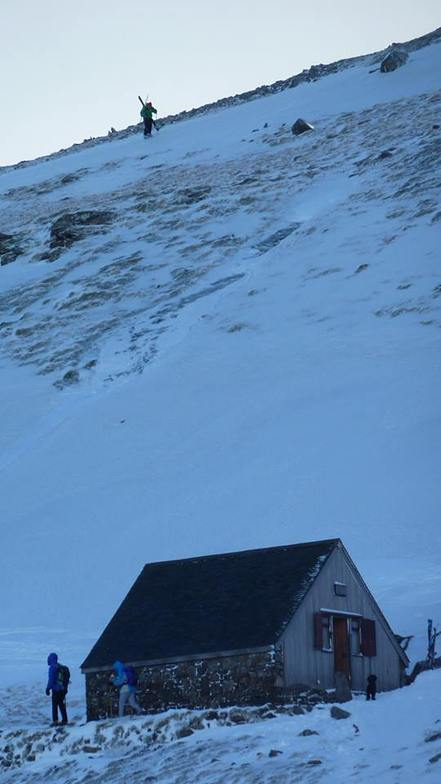 Members Hut, Raise (Lake District Ski