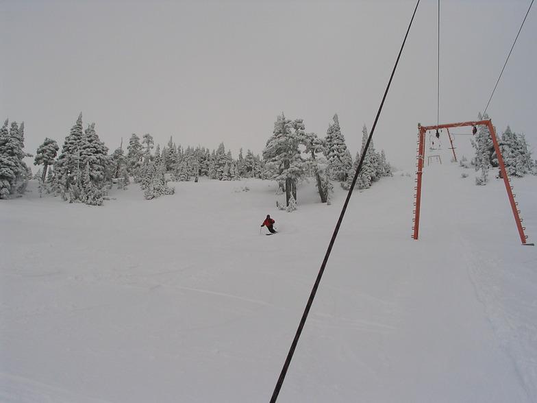 Tower 6 upper T Bar, Mount Cain