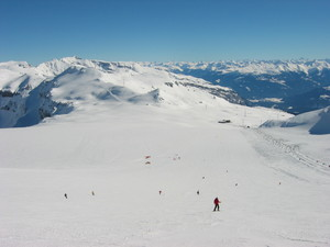 At the top, Flims Laax Falera photo