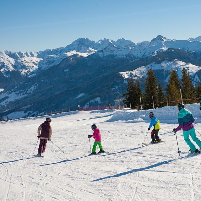 Skiing in Grossarltal-Dorfgastein, Grossarl-Dorfgastein