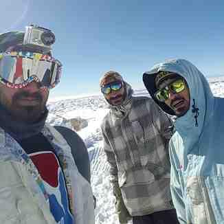 3240 metr top of the mountain, Pooladkaf Ski Resort