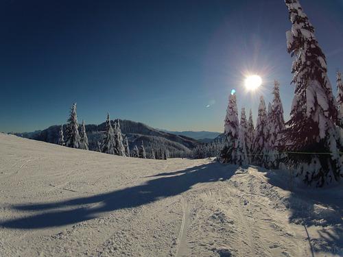 Sasquatch Mountain Resort Ski Resort by: Sheri Bawtinheimer