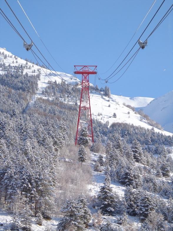 Funivia di valle - lowest lift, Campo Imperatore