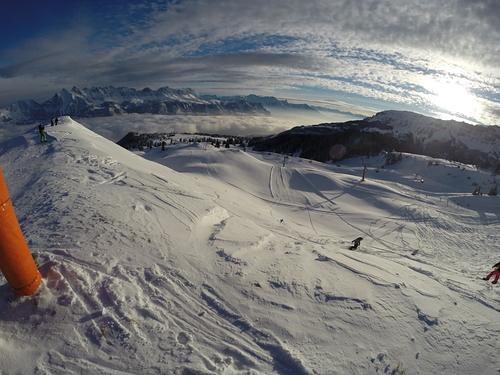 Flumserberg Ski Resort by: Harry Miller