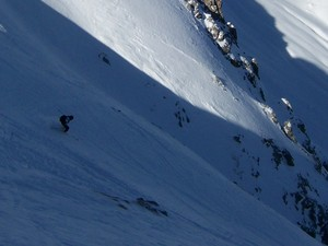 powder tour between Davos and Lenzer heide, Lenzerheide photo