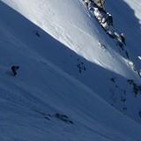 powder tour between Davos and Lenzer heide, Lenzerheide