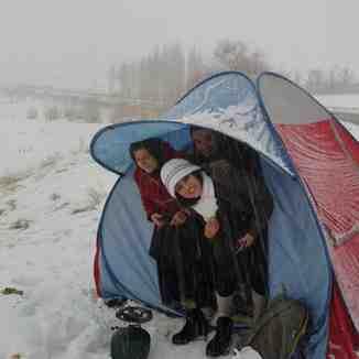 winter hendodar arak, Mount Damavand