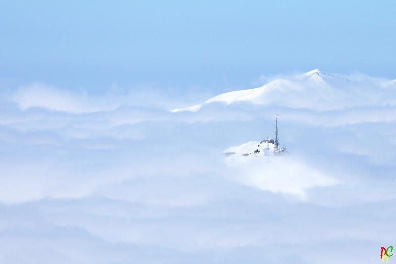 mer de nuages, Val Thorens