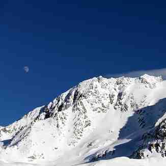 le glacier péclet, Val Thorens