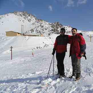 ski resort hendodar, Mount Damavand