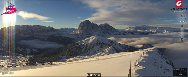 Gorgeous morning on Seceda - Val Gardena - Italy