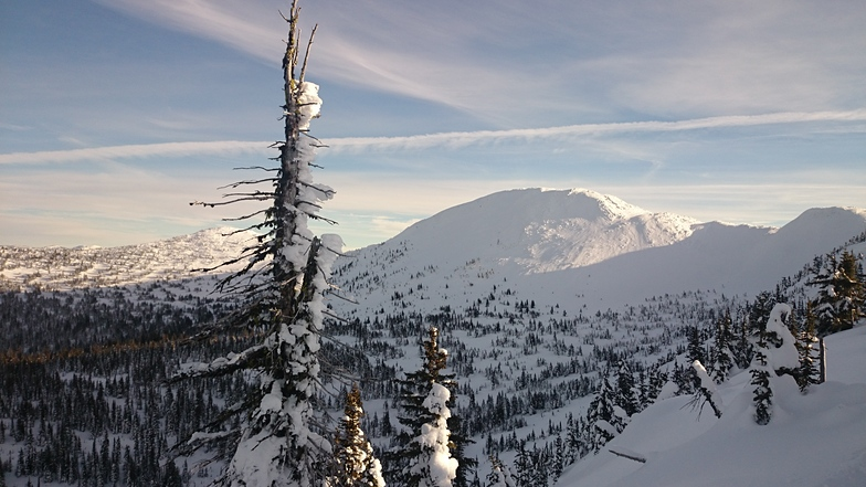 Big White's backside
