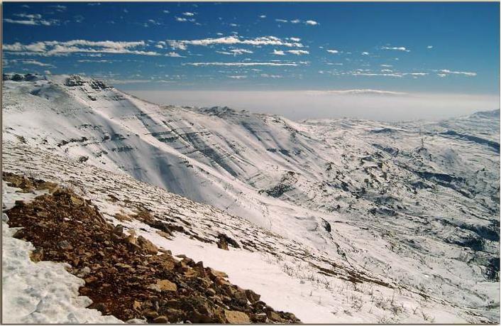 Cedars, Lebanon, Mzaar Ski Resort