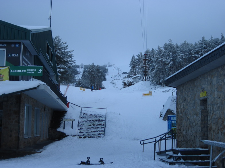 Manzaneda snow