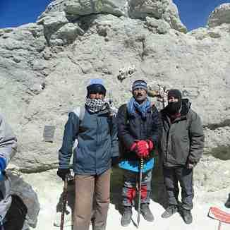 The largest peak of Iran, Mount Damavand