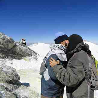 Happily conquered Mount Damavand