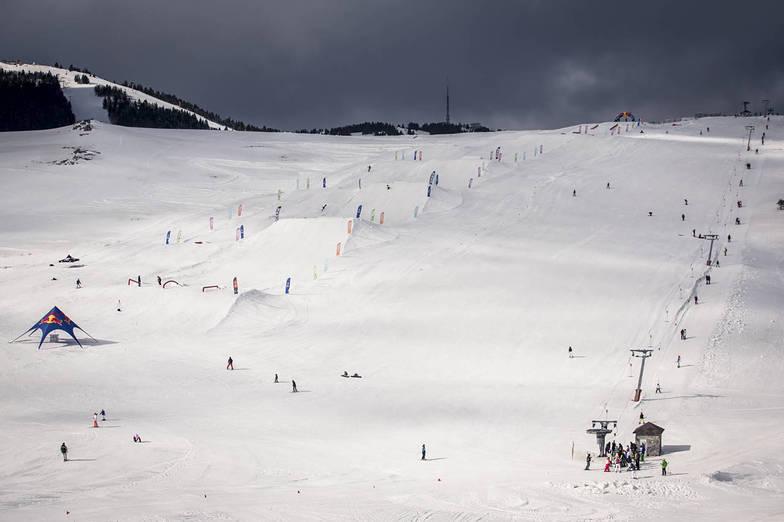 Best Snowpark in Turkey Quark Uludag by metrikparks, Uludağ