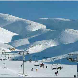 Faraya, Lebanon, Mzaar Ski Resort