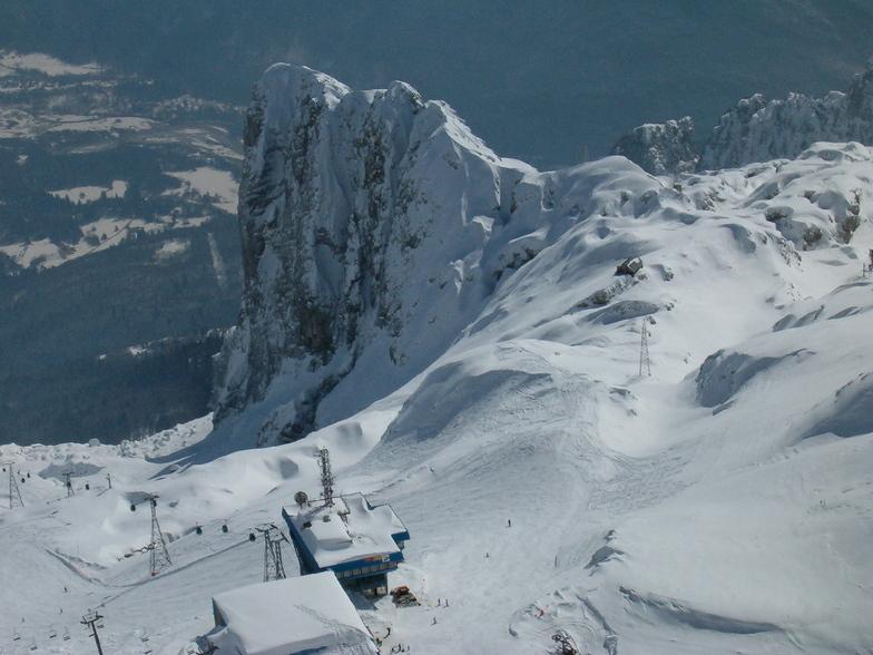 Bovec snow