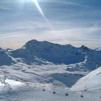 View from Grande Motte - Tignes