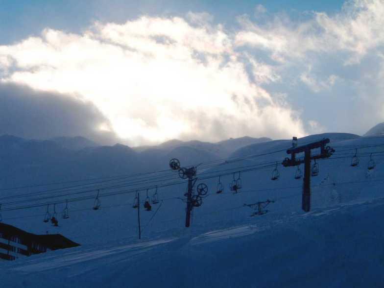 Le Lac Blanc snow