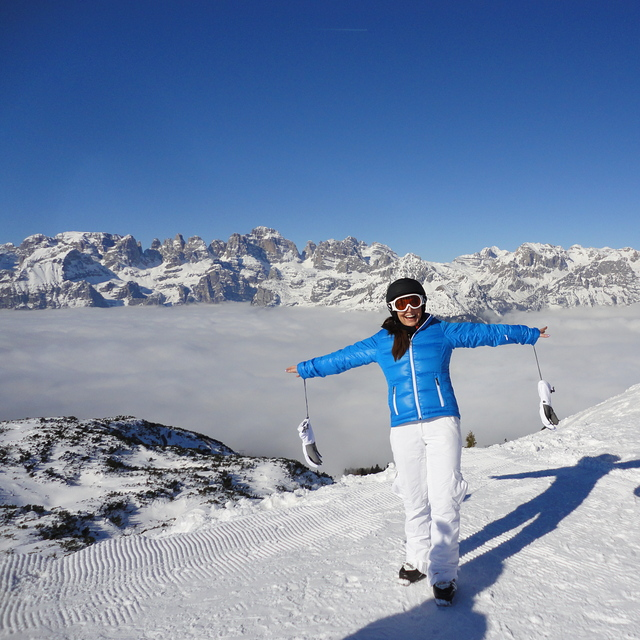 Good Ski Resort For Beginners..!!, Andalo