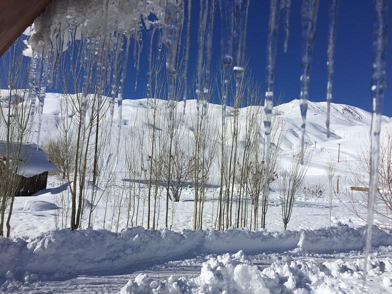 Icicle by ahmad amiri, Pooladkaf Ski Resort