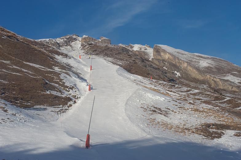 Anzère artificial snow
