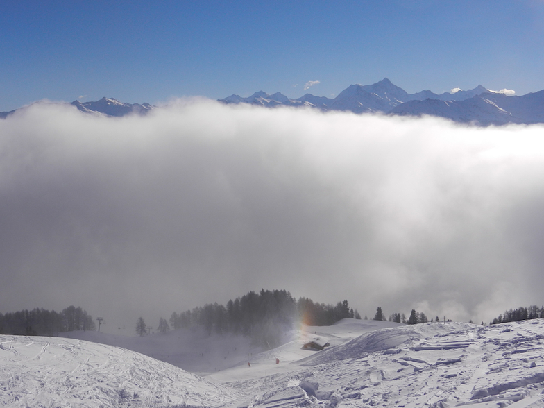 Sea of clouds, Anzère