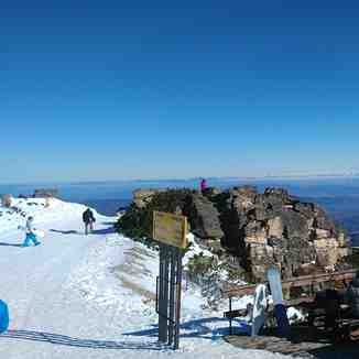At Yastrebets peak, Borovets