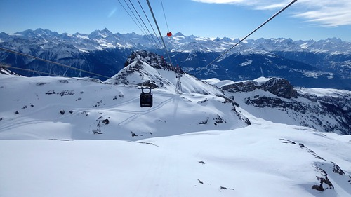 Crans Montana Ski Resort by: Denise Hastert