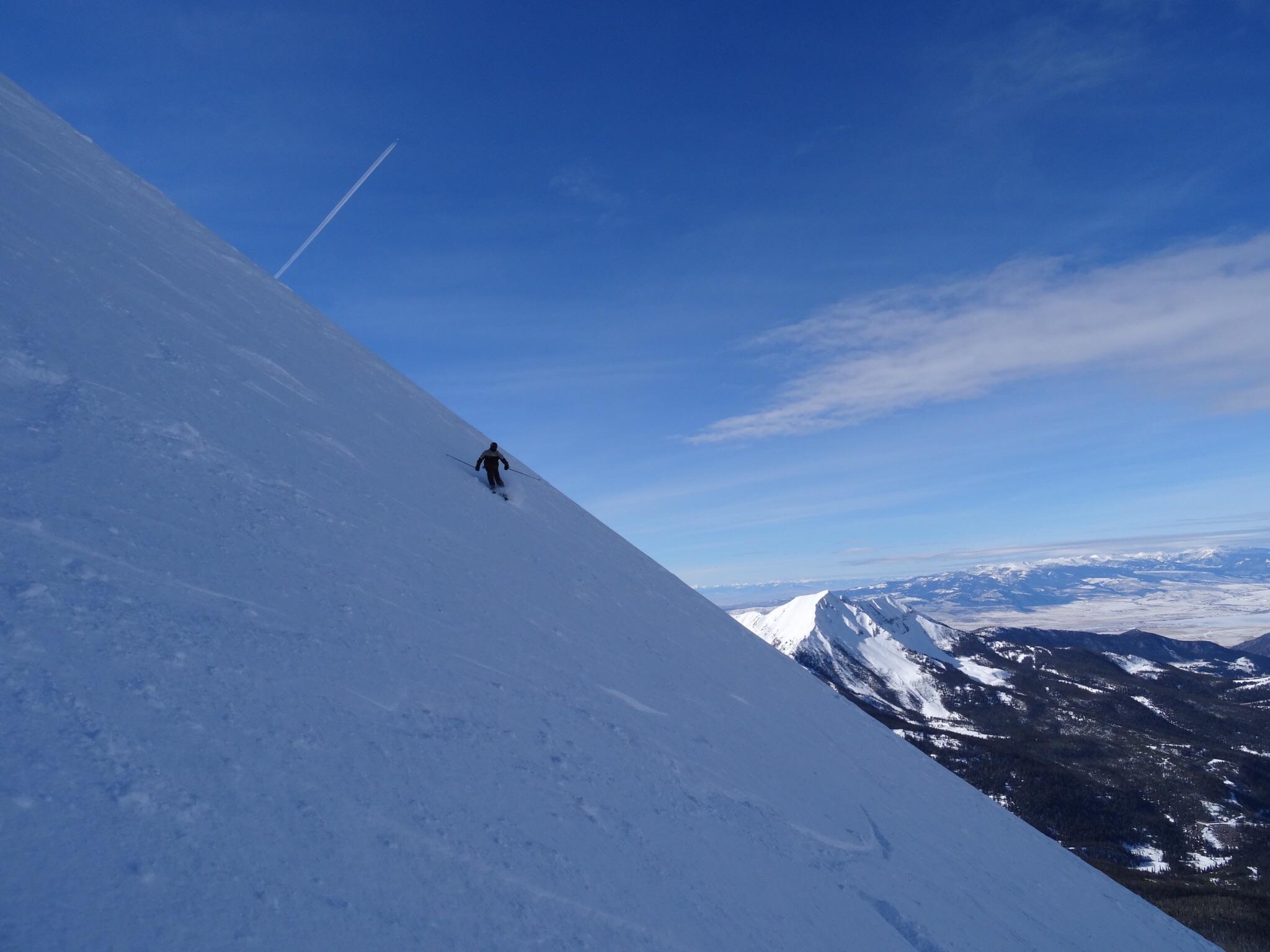 North Summit Snowfield, Big Sky